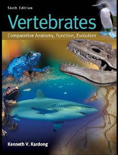 Vertebrates: Comparative Anatomy, Function, Evolution 6th Edition