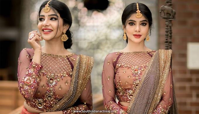 Ullasam movie actress Pavithra Lakshmi latest photoshoot | Pavithra Lakshmi Instagram Pics