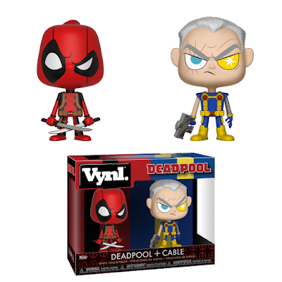 Deadpool 2 Deadpool & Cable Marvel Vynl 2 Pack by Funko