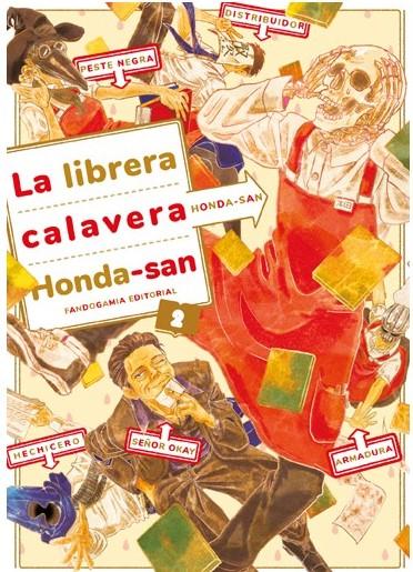 Review del manga La librera calavera Honda-san Vol.2 de Honda - Fandogamia
