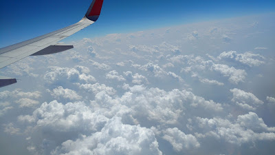 cloud photo from flight
