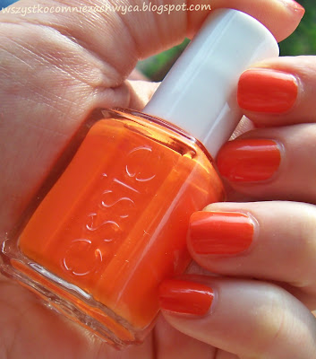 Essie, Navigate Her, 210A Orange, It's obvious