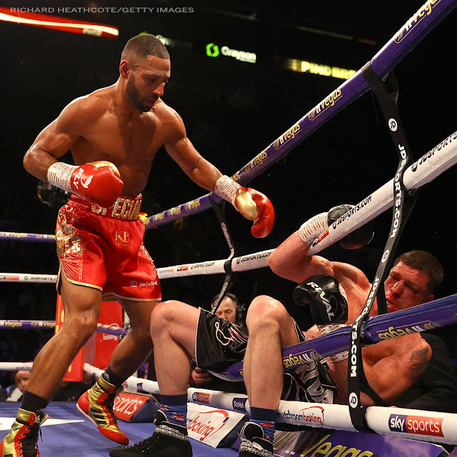 Kell Brook drops Mark DeLuca