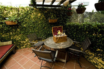 Como decorar patios peque os patios y jardines for Como arreglar un jardin pequeno