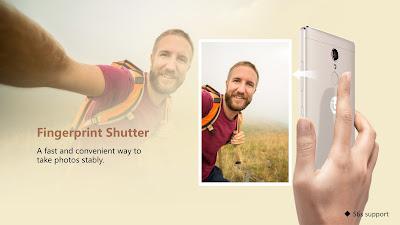 Gionee S6 Fingerprint shutter