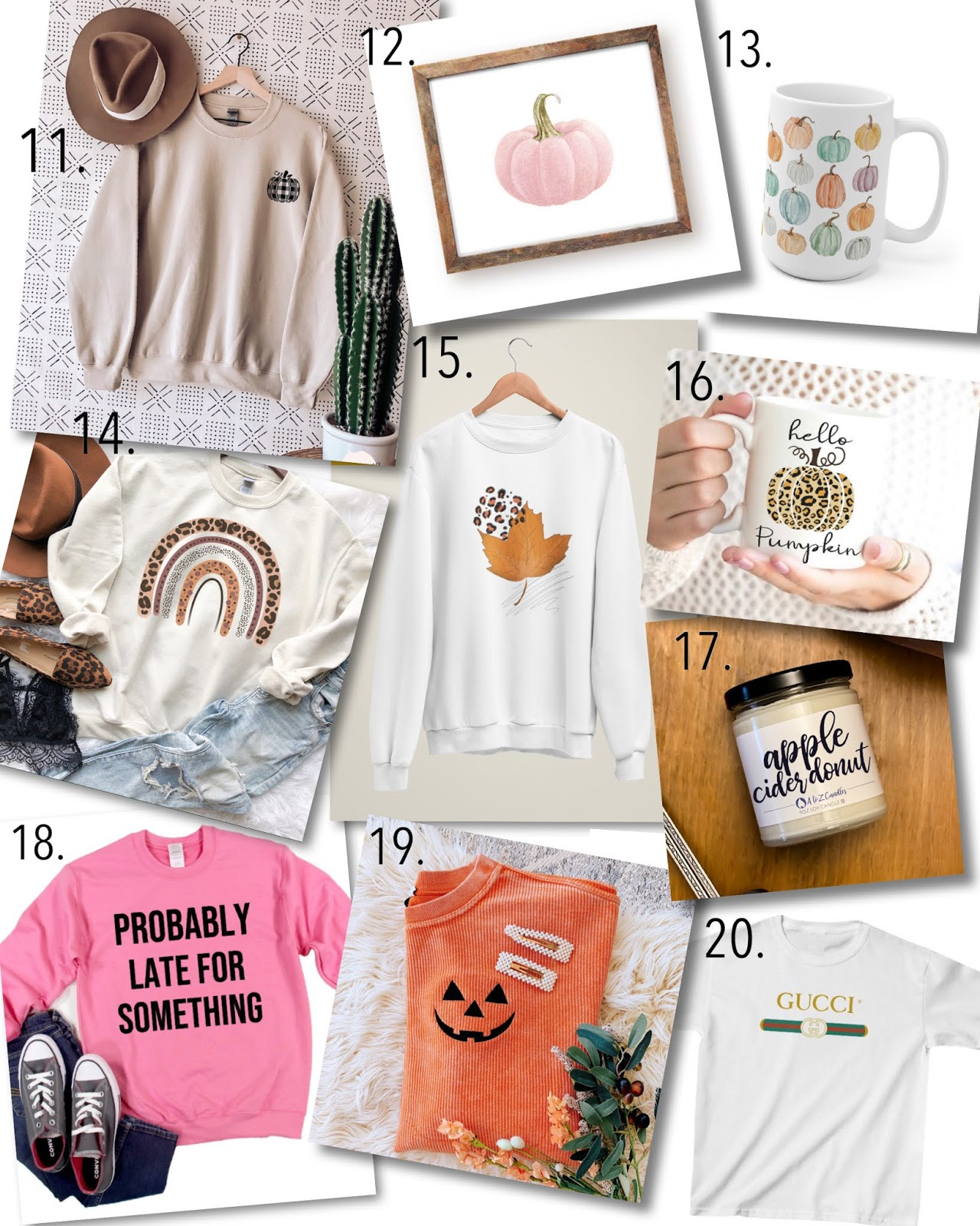 Recent Etsy Finds: Graphic Tees, Fall Sweatshirts, Fall decor and More - Something Delightful Blog