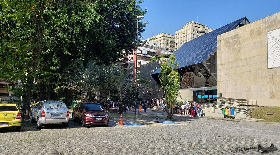 Estacionamento do Planetário da Gávea