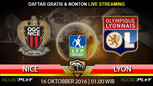 Prediksi Nice vs Lyon 16 Oktober 2016 (Liga Prancis)