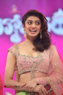 Actress Pranitha Stills in Lehenga Choli at msavam Audio Launch  0028.JPG