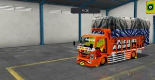 Mod Truck Rollis Terpal Gayor Bussid