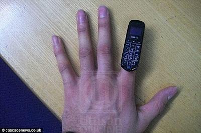 Telefon Bimbit Sebesar Jari Jadi Pilihan Banduan