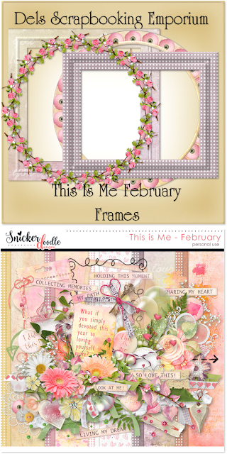 This Is Me February Frames