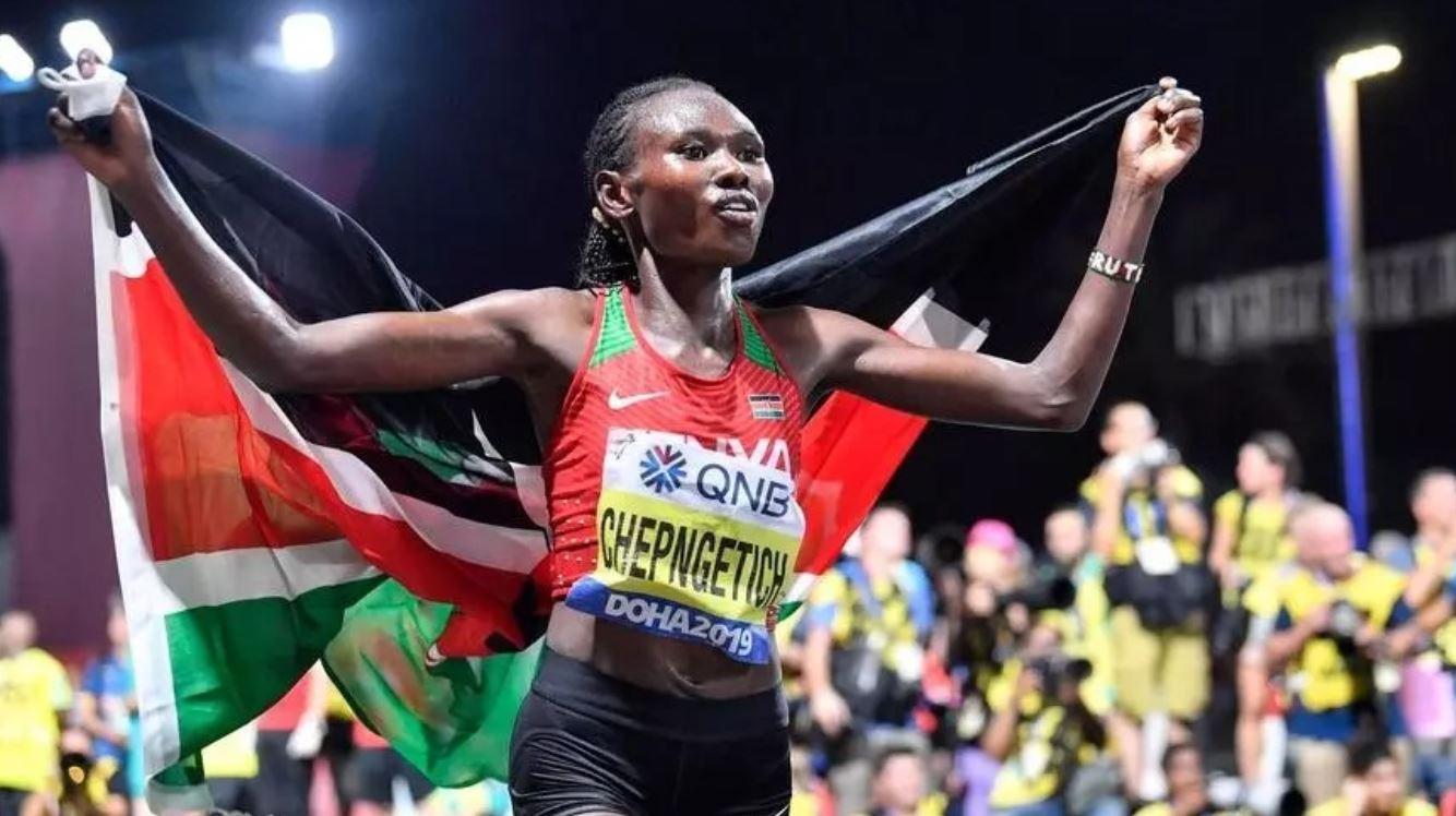 Ruth Chepngetich record monde