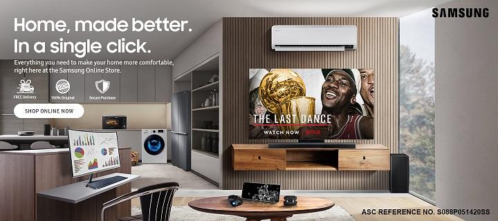 Samsung Online Store PH Launch