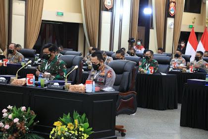 Rapim TNI-Polri 2021 Juga Bahas Sinergitas, Penanganan Covid-19 Hingga Pemulihan Ekonomi