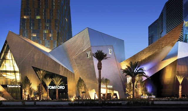 Shopping Crystals City Center em Las Vegas