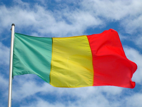 Broken Screen Wallpaper 3d Graafix Mali Flags Of Malian