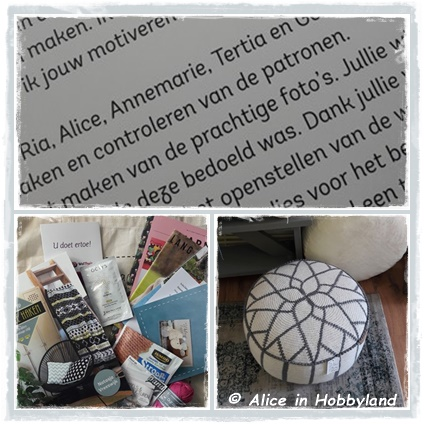 Alice In Hobbyland Boekpresentatie Workshop Fair Isle Haken Van