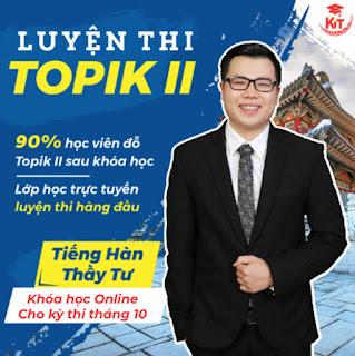 KHÓA HỌC TOPIK II ONLINE - THẦY TƯ - KỲ THI 10/2021 ebook PDF-EPUB-AWZ3-PRC-MOBI