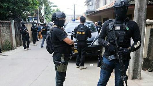 Densus 88 Kembangkan Penyelidikan Empat Teroris Yang Ditangkap Di Bekasi