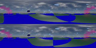 3D stereoscopic test frame, TAB