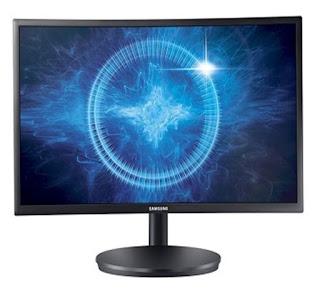 Monitor Komputer Gaming Samsung  27 Inch CFG70