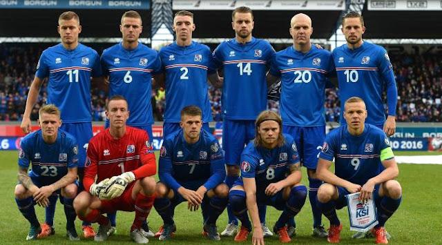 Skuad Resmi EURO 2016 Islandia