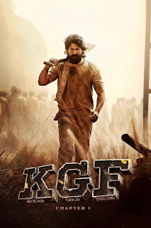kgf chapter 1 poster