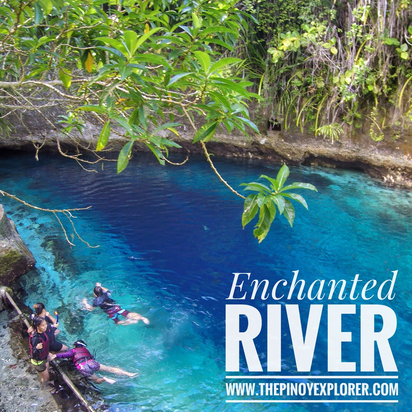 Places You Have To Visit In The Us Surigao Del Dur Enchanted River Of Hinatuan Finally