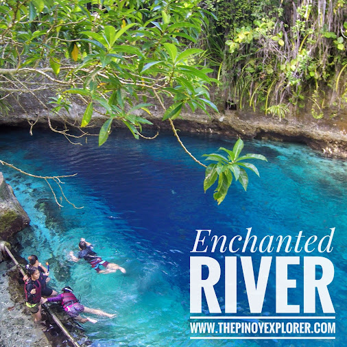 #Enchanted  River of #Hinatuan