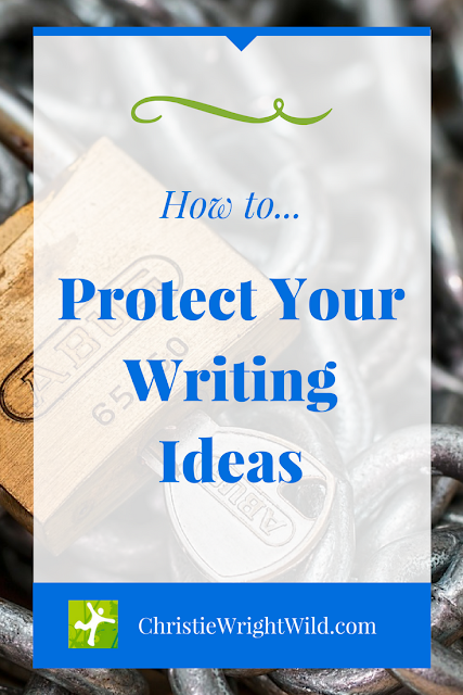 HOW TO PROTECT YOUR WRITING IDEAS || can you copyright an idea | are ideas copyrightable | do writers steal ideas | when the muse strikes, listen