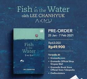 Fish in the Water: Novel Personel AKMU Lee Chanhyuk Dirilis di Indonesia