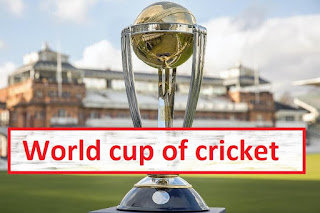 World cup of cricket