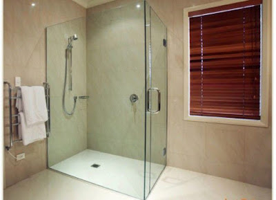 New designs of glass curtains for bathroom and glass curtain wall