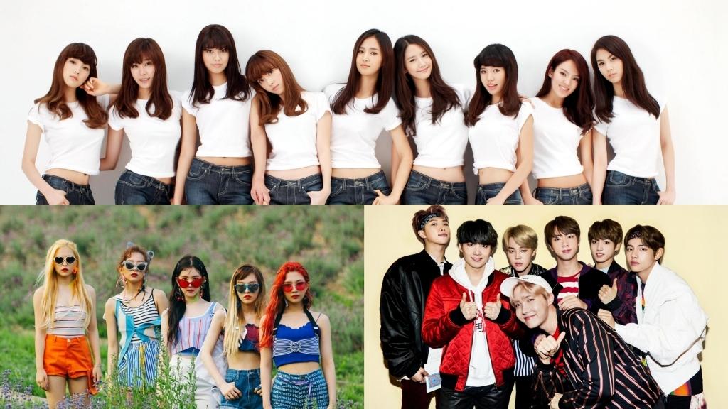 SNSD, BTS and Red Velvet Enter Billboard's 100 Best MV of All Time List