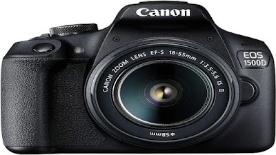 1. Canon EOS 1500D DSLR Camera