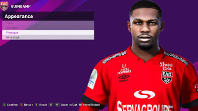 PES 2020 Faces Marcus Thuram by Rachmad ABs