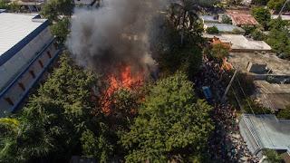 Esquizofrénico incendió vivienda en Villa Central