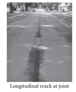تشققات المفاصل الطولية - LONGITUDINAL JOINT CRACKS