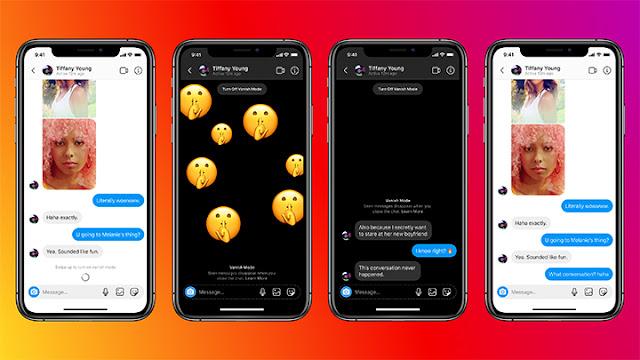 Gunakan Mode Pesan Rahasia di Messenger dan Instagram Dengan Vanish Mode