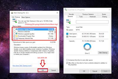 Cara Membersihkan Windows Setelah Upgrade