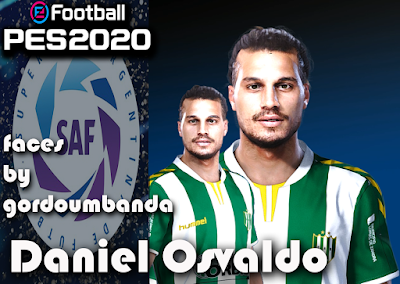 PES 2020 Faces Dani Osvaldo by Gordoumbanda