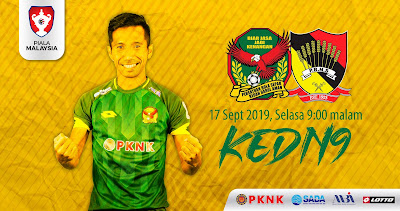 Live Streaming Kedah vs Negeri Sembilan (Piala Malaysia) 17.9.2019