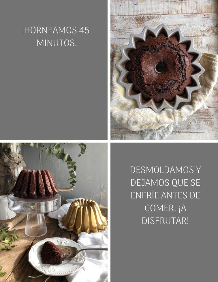 preparacion-chocolate-mayonnaise-bundt-cake