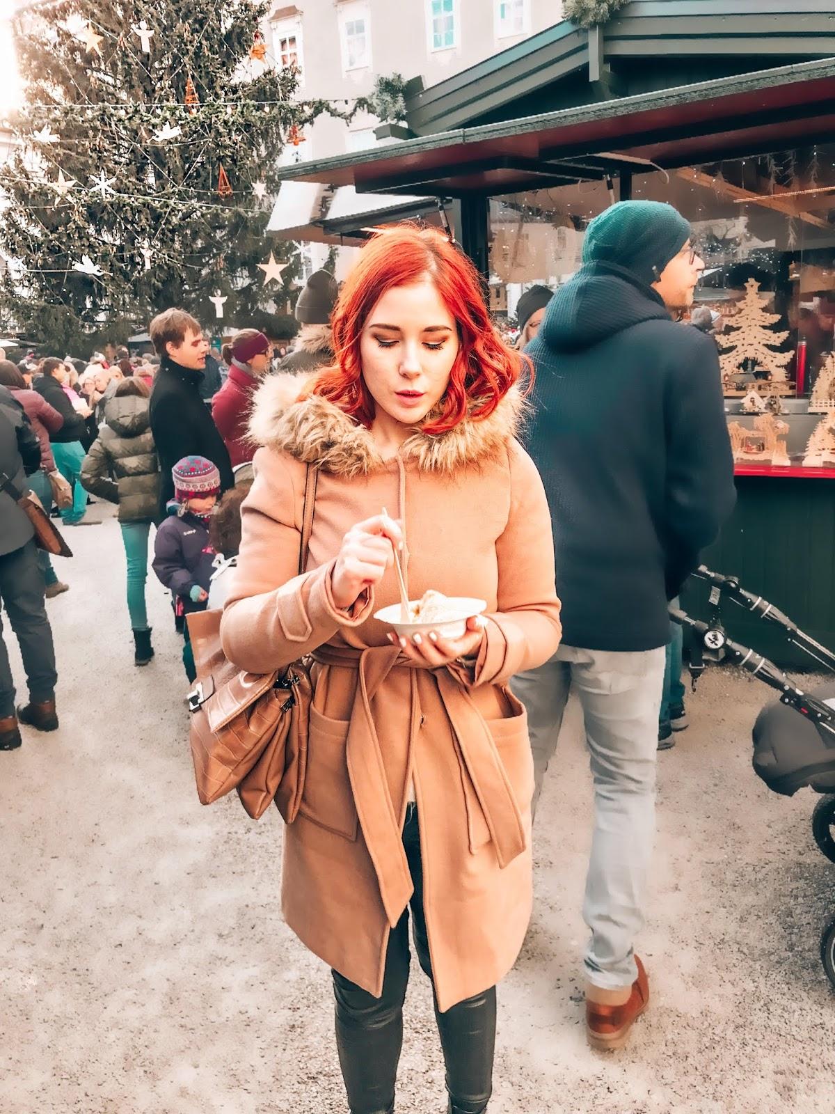 slovenska modna blogerka spela seserko na izletu v salzburgu