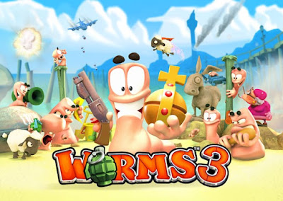 Worms 3 Apk + Data Unlimited Coins,Unlocked Levels Free Download