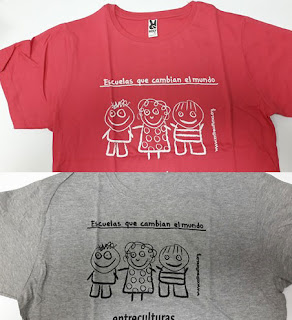 camiseta Corre por una causa Entreculturas