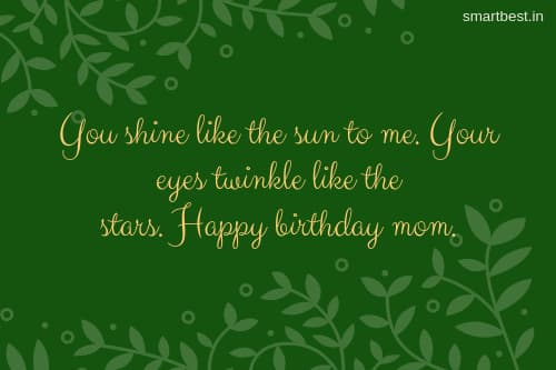 Happy Birthday Quotes Messages Images Stickers Card For Mom