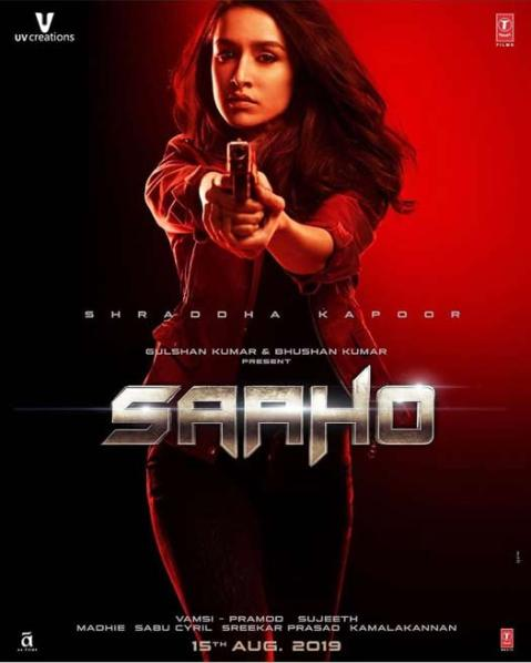 Prabhas, Shraddha Telugu movie Saaho 2019 wiki, full star-cast, Release date, Actor, actress, Song name, photo, poster, trailer, wallpaper