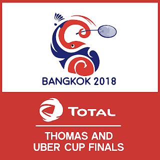 Final Thomas dan Uber Cup 2018